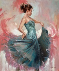 Blue Dance by Mark Spain -  sized 20x24 inches. Available from Whitewall Galleries